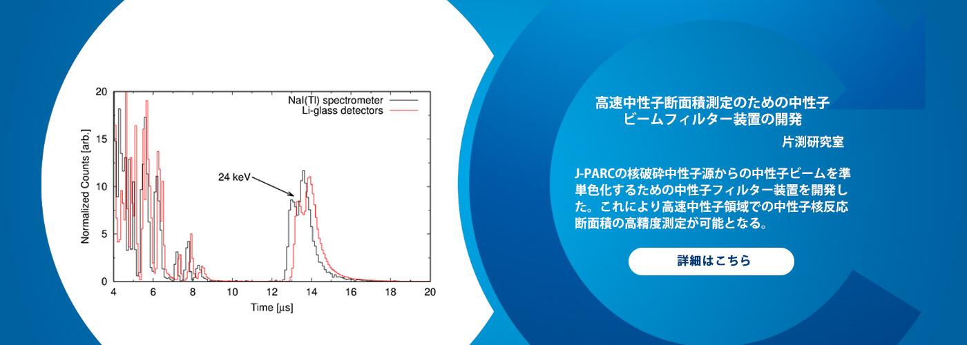 高速中性子断面積測定のための中性子ビームフィルター装置の開発